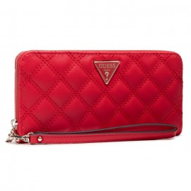 GUESS CESSILY SLG LARGE ZIP AROUND ΓΥΝΑΙΚΕΙΟ ΠΟΡΤΟΦΟΛΙ ECO LEATHER LIPSTICK