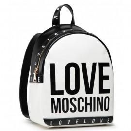 LOVE MOSCHINO DONNA ΓΥΝΑΙΚΕΙΑ BACKPACK ECO LEATHER WHITE