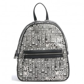 LOVE MOSCHINO DONNA BACKPACK ECO LEATHER BLACK