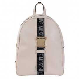 LOVE MOSCHINO DONNA BACKPACK LEATHER BEIGE
