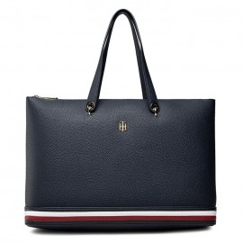 TH ELEMENT TOTE BAG CORP ECO LEATHER NAVY