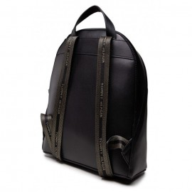 ICONIC TOMMY BACKPACK WOMEN SIGN ECO LEATHER BLACK