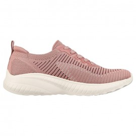 SKECHERS BOBS SQUAD CHAOS ΓΥΝΑΙΚΕΙΑ SNEAKERS ΥΦΑΣΜΑ ΜΩΒ
