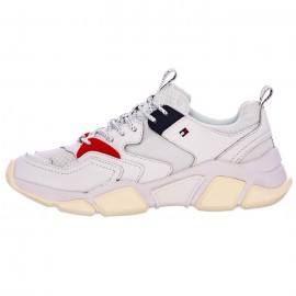 WMN CHUNKY MIXED TEXTILE TRAINER TOMMY